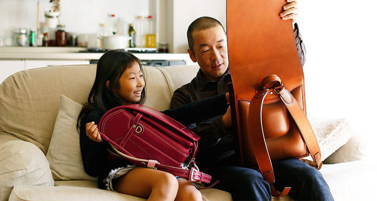 親子で背負う、土屋鞄のランドセル